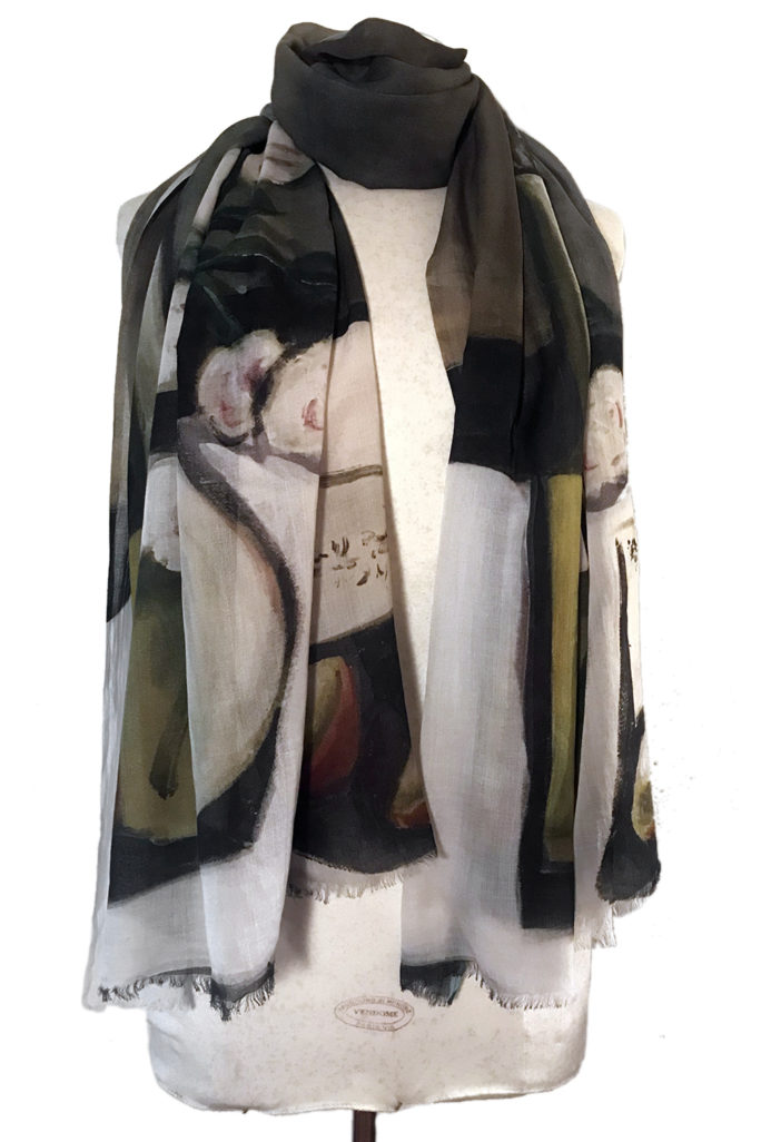 Still Life Painting scarf