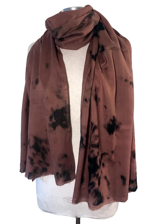 Blush Tie Dye scarf