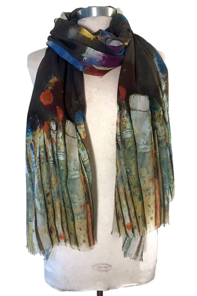 Paint Brushes scarf
