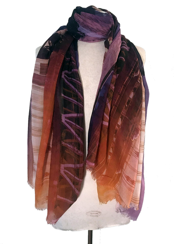 Williamsburg Bridge scarf