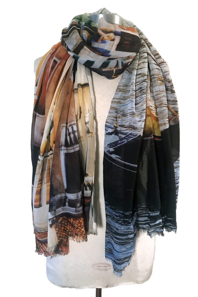 Venice Canal scarf