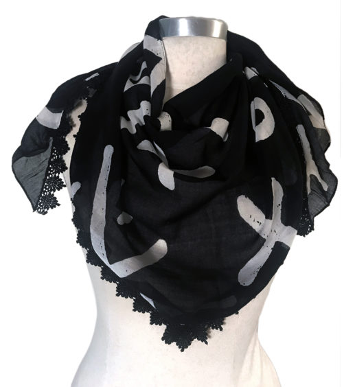 Tic Tac Toe scarf