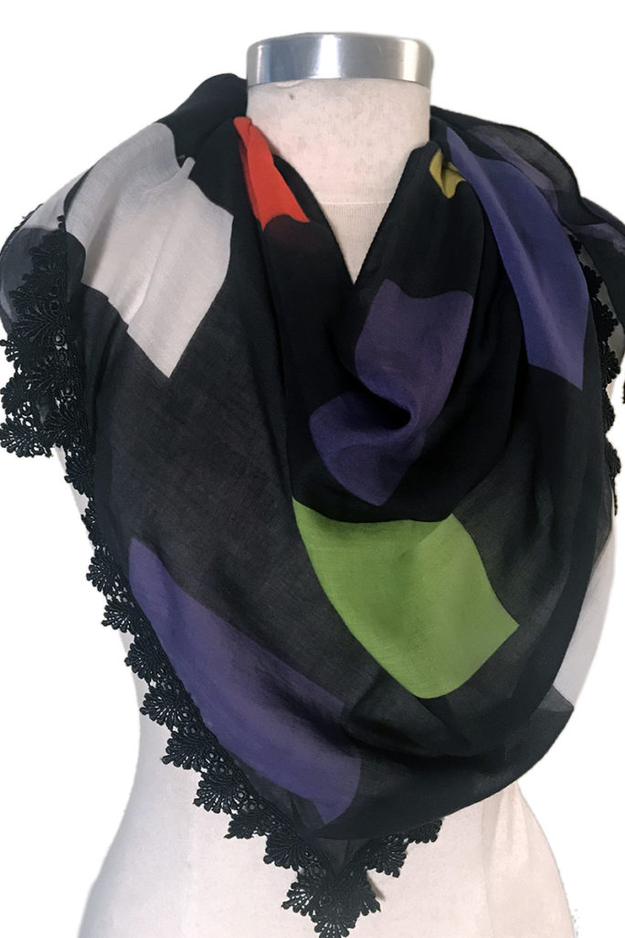 Ellsworth Kelly scarf