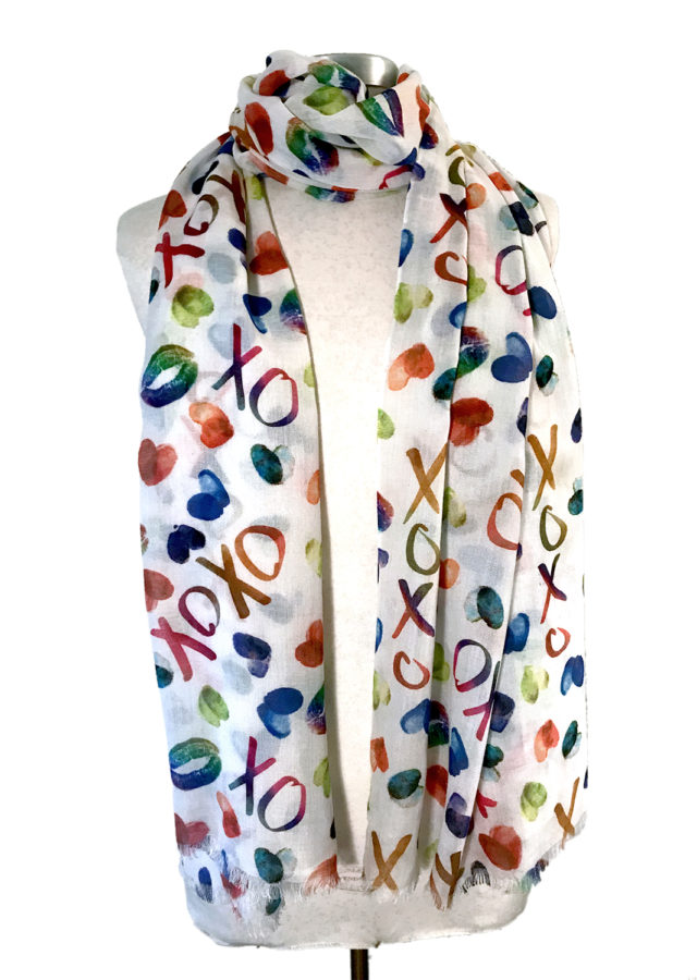 XOXO scarf