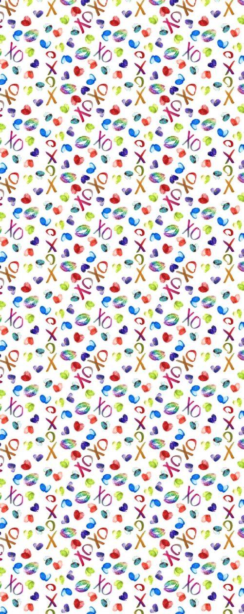 XOXO scarf zoom